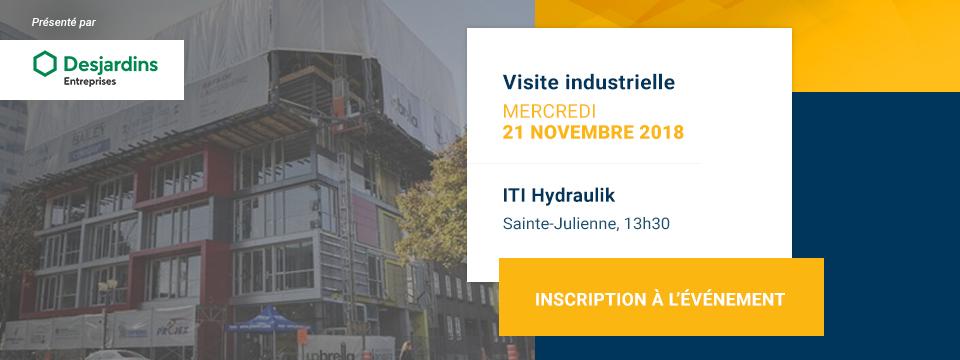 Visite industrielle chez ITI Hydraulik
