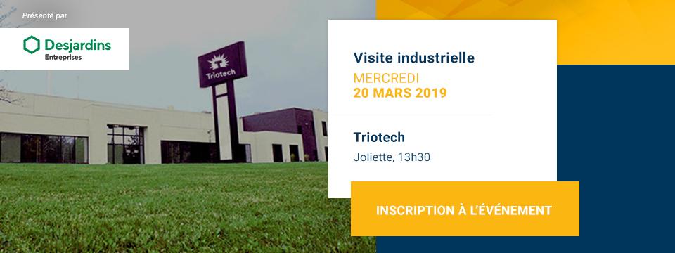 Visite industrielle chez Triotech