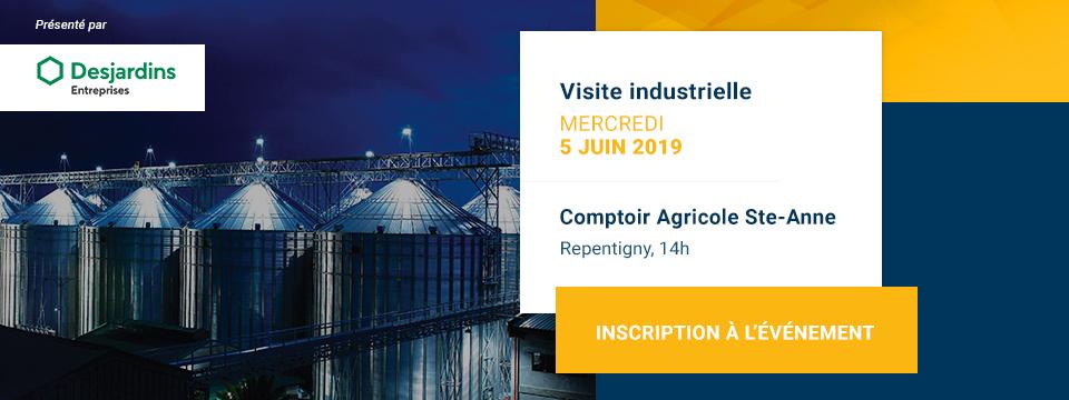 Visite industrielle chez Comptoir Agricole Ste-Anne